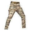 Pantaloni camuflaj zara